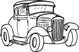 Vintage car drawing at getdrawings free for personal use