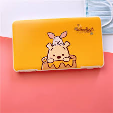 <b>Mask</b> Storage Box Cartoon <b>Cute Storage Bag</b> Portable Children's ...