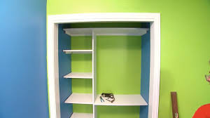 Building closet shelves Wood Todays Homeowner How To Build Closet Shelving For Your Home Todays Homeowner