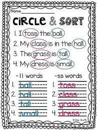 Printable phonics worksheets for kids. Pin On Anything And Everything First Grade