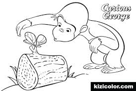 Kids Curious George Coloring Pages Printable Pokemon For Adults Easy