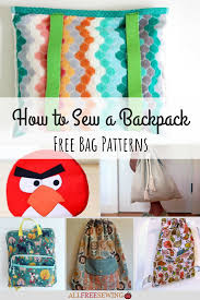Free Backpack Sewing Pattern Pdf