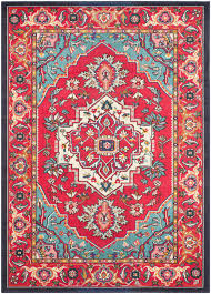 reward red and teal area rug contemporary modern rugs free bold