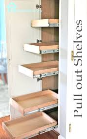diy dimensions on how to build the drawers and install them in cabinet