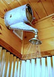 outside shower head outdoor shower head idea with old watering can more shower heads home depot canada