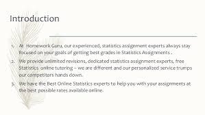 statistics assignment help online tutoring assignment help 3