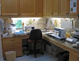 artists studio lighting. Tonnie Wolfe Artist Studio Embroidery Organization Ideas Lighting Cabinets Machines Artists D