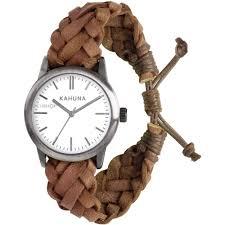 "men s kahuna friendship bracelet watch kgf 0009g watch shop comâ""¢ mens kahuna friendship bracelet watch kgf 0009g"