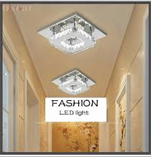 cool hallway lighting. 12w cool white led ceiling light crystal lamp living room hallway lights bedroom balcony porch lighting