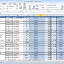 Inventory Template For Excel Server Inventory Template Excel La Portalen Document Spreadsheet