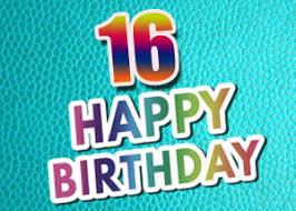 16 Geburtstag Glückwünsche Und Sprüche Kostenlos