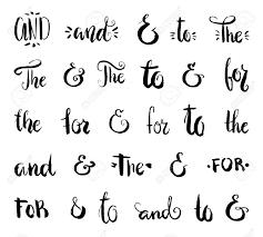 ベクトル クリップ アート コレクション 手書き標語 からとamperdsands