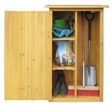 wooden outdoor cupboard garden storage