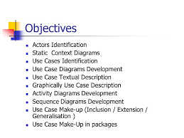 software engineering unit functional modelling ppt  2 objectives actors identification