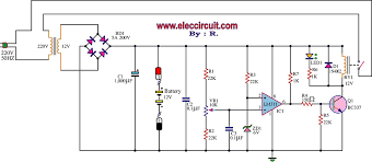 12v battery diagram simple wiring diagram fully automatic battery charger circuit using lm311 12v battery charger diagram 12v battery diagram