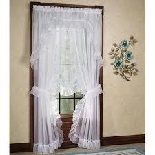 Bedrooms · Jessica Ninon Ruffled Priscilla Curtains ...