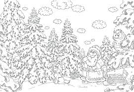 Free Printable Christmas Coloring Pages For Adults Jokingartcom