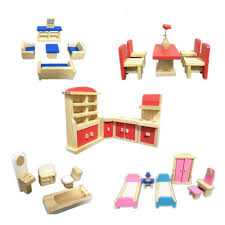 Cheap dolls house furniture sets Le Toy Wooden Handmade Dollhouse Furniture Miniature 112 Toys Miniature Furniture Doll For Kids Play Pretend Educational Toy Dollhouses Kits Dolls House Furniture Dhgatecom Wooden Handmade Dollhouse Furniture Miniature 112 Toys Miniature