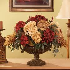 Small Picture Grande Silk Hydrangea Silk Flower Arrangement Flower