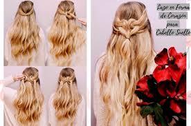 Peinados Sencillos Con Pelo Suelto Cabello Largo