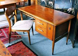 lane acclaim mid century desk and matching chair