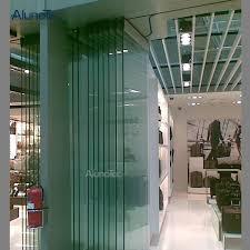 modern frameless glass bi folding door for house