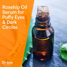 rosehip oil eye serum for dark circles puffiness