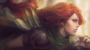 dota 2 windrunner desktop background hd 1920x1080 deskbg com