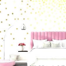 gold polka dot wall decals gold dots on wall polka dot wall decals gold dot wall