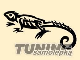 Tetování Ještěrka 17 Samolepka Zvířata Tsdesign Sro