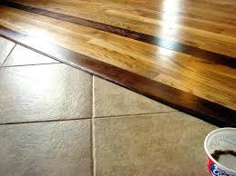 hardwood to tile transition wood to tile transition strip ceramic tile and hardwood floor combinations do hardwood to tile transition
