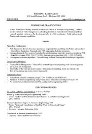 Gallery Of Graduate Student Resume