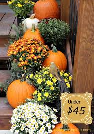 Outdoor Decorating For Fall  The Apron By The Home DepotDecorating For Fall