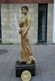 gold dress not painted i really disliked the difference in colors between two golds also that