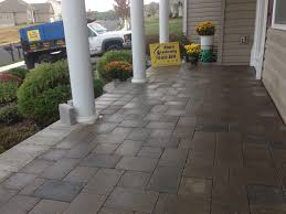 beautiful pavers installing pavers over concrete patio lovely how to install on t