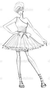 Small Picture Fashion Coloring Page Free Download