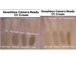 Smashbox Bb Cream Light Medium Swatch Smashbox Dark Spot Corrector Camera Ready Cc Cream Cc