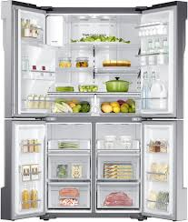 samsung refrigerator french door. interior samsung rf23j9011sr - 22.5 cu. ft. refrigerator french door