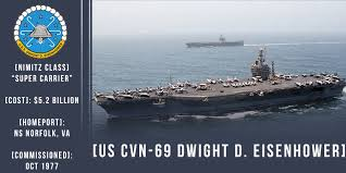 Image result for USS Dwight D. Eisenhower