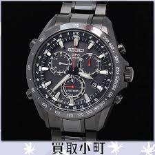 kaitorikomachi rakuten global market seiko astron gps solar seiko astron gps solar chronograph men s watch hard coated stainless steel black ceramic men s watch