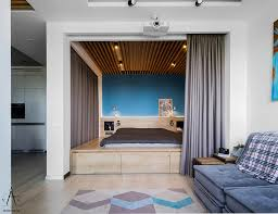 Creative Studio Apartment Design