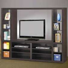 Small Picture Magnificent Dark Brown Wall Shelves Design By Terrific Tv Shelf