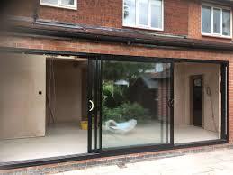 how wide is a sliding glass door inspirational smarts system aluminium triple track sliding patio doors