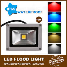 24 Volt Dc Led Flood Lights Us 315 4 5 Off New 35pcs Lot Rgb Dc 12 Volt Led Flood Light 10w Best Price Rechargeable Led Floodlight Outdoor Led Spotlight Ip65 900lm In