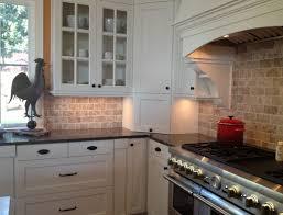 White Stone Kitchen Backsplash Kitchen Dining Backsplash Ideas For White Themed Cabinet