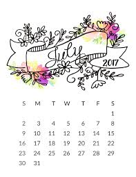 july 2017 calendar cute printable template with holidays july 2017 cute calendar pdf images pictures 2017 july calendar cute free july calendar cute 2017