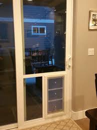 large pet door in sliding door boise