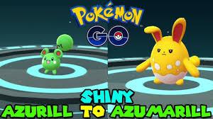 Evolve Azurill Pokemon Go