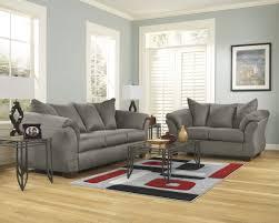 Living Room Sets At Ashley Furniture Ashley Furniture Darcy Living Room Set In Cobblestone Best