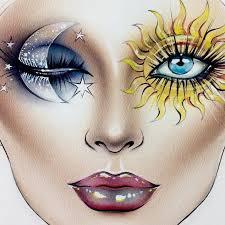 meet milk1422 the artist behind the face charts inspiring makeup